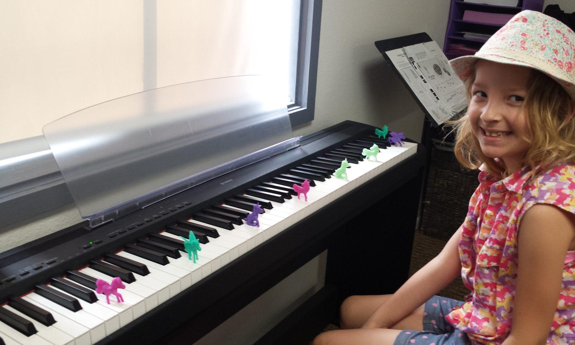 Piano Student at Samara Rice Music