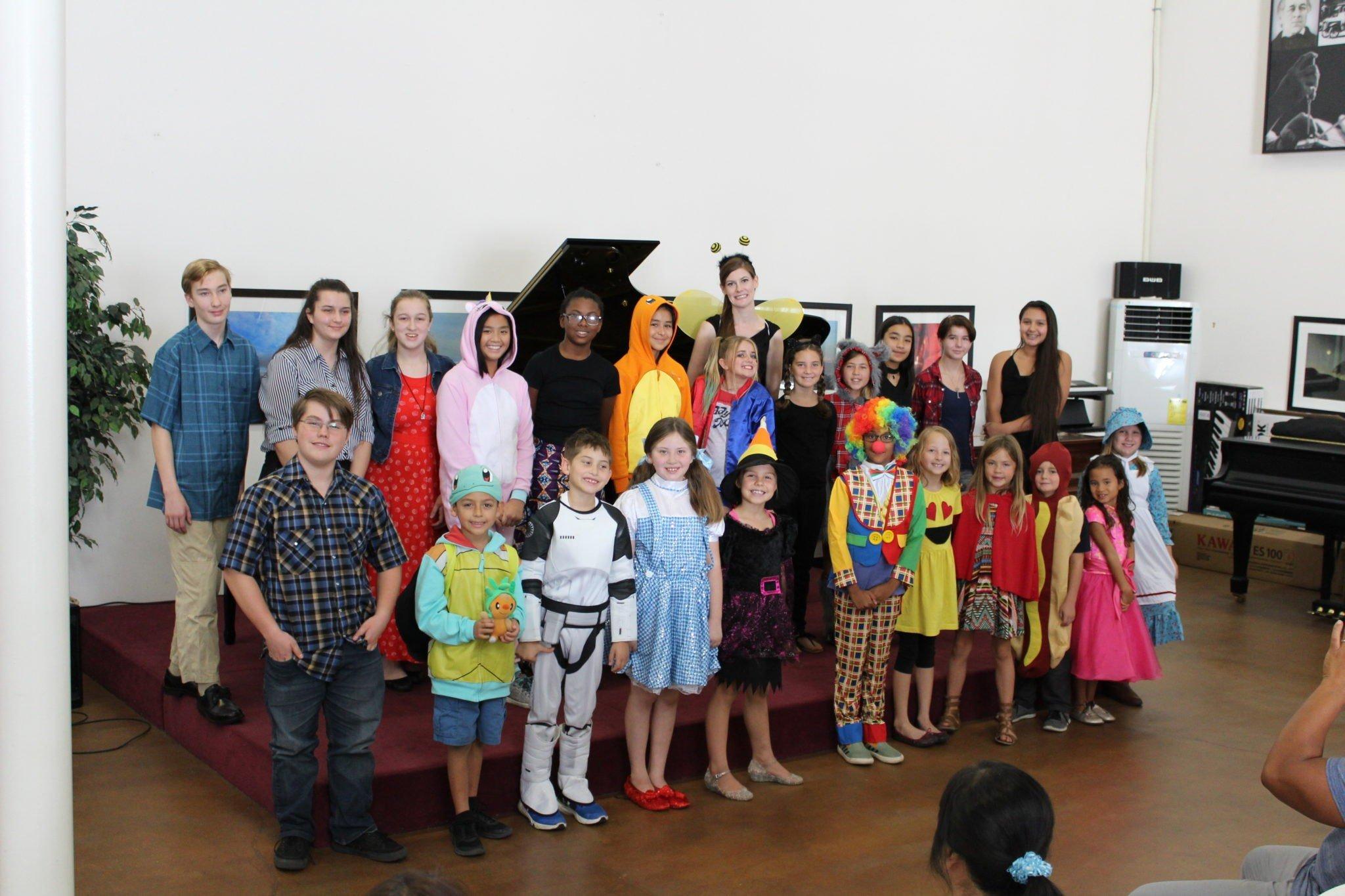Halloween Recital 2017